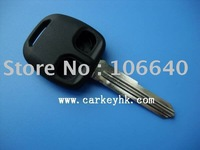 Mitsubishi key blank remote car key shell case 2 button wholesale and retail pass ISO9001 Certificate