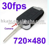 5pcs/lot 30FPS MINI DVR 720 *480 HD Car Hidden Key Camera s818