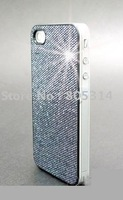 Free Shipping,Glitter Hard Shining Case Cover Skin for Apple iPhone 4G
