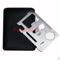 Multi Tools Card knife 11 Function Saber Card tool Outdoor Survival Multifunction knife 10pcs