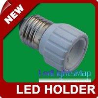 Free Shipping E27 to GU10 LED Light Lamp Bulbs Adapter Converter [LedLightsMap ]