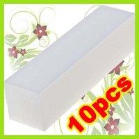 KT116 10x White Buffer Blocks File Arcylic Nail Art Tip