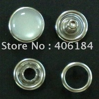 11.5mm environmental protect and Nickel-free,special Export to Europe pearl 333# snap button stud button for fashion garment