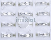 Free shipping Wholesale mix lot 3000pcs Aluminium rings ring jewelry rings fashion jewelry