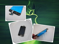 free shipping  Complete TOUCH screen+ LCD Display assembly For iphone 4G
