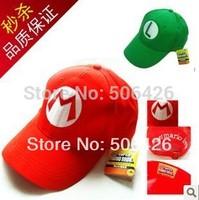 Super Mario Bro Anime Kids Hat Cap Cosplay Green New