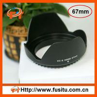 Screw Mount 67mm Lens Hood Flower Crown Petal Shape