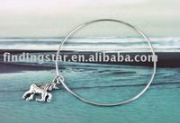 FREE SHIPPING 20PCS Horse Charm Bangle Bracelet #20199