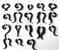 Acrylic fake Ear taper -Body Jewelry -Body Jewellery-Bulk Sale/Ear piercing Jewelry