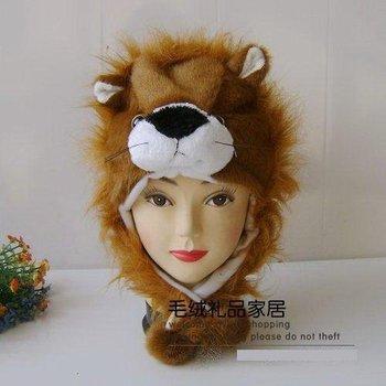 WINTER HAT  10 PCS/ LOT LOVELY PLUSH ANIMAL  hat PARTY CARTOON AAA1