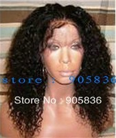 Best natural black  kinky curly human hair african american  wigs
