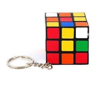 Free shipping  Hot Sales items Wholesale Mini Keychain 3x3x3 Magic Cube Puzzle Magic Game Toys 10pcs/lot