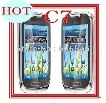 NEW C7 mobile phone,JAVA, Bluetooth unlock cell phone,free shipping