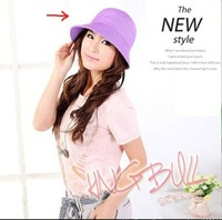 Free shipping Wide Large Brim Summer Beach Hat UV Protection