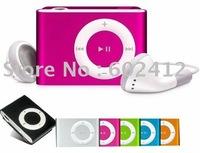 Mini Clip Mp3 Player 2GB Capacity OEM logo popular model free shiping