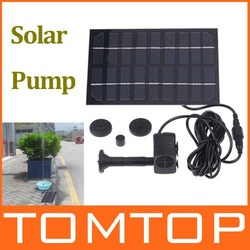 Solar Brushless Pump For Water Cycle/Pond Fountain/Rockery Fountain,freeshipping, Dropshipping(China (Mainland))