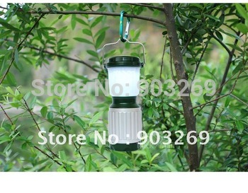 Mail Free + 1PC 138-17 Camping Light lantern By 4 AA Battery Waterproof Portable Camping Lamp With Blister Package Last 20 Hours
