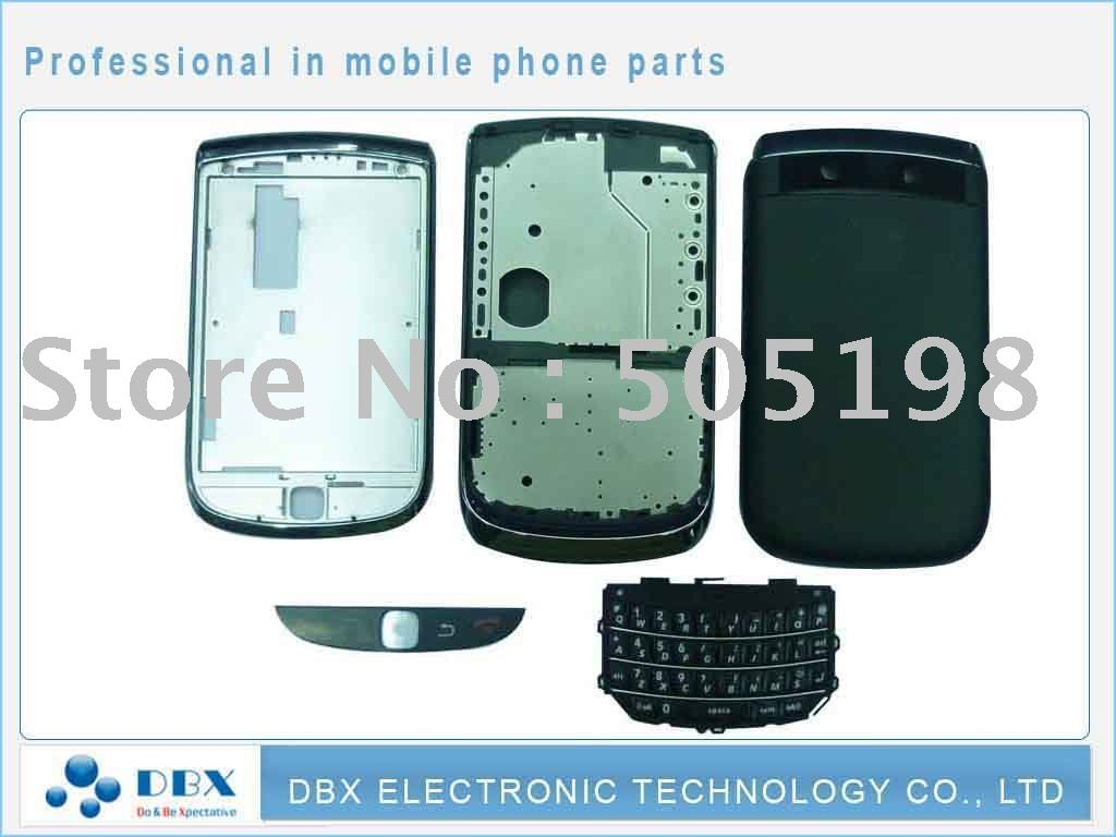 housing full set For blackberry Torch 9800 and keypad free shipping(China (Mainland))