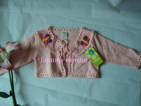 Kd1658 Brand New BABY'S Fall Sweater Kids Garment Girl Clothing shawl  Fanon