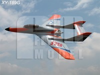 RC jet airplane model Faclon 120