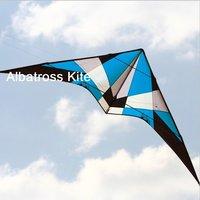 ALBATROSS--2.7m Pro Stunt Kite with lines and strap/ kite set RTF/ Free Shipping