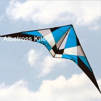ALBATROSS--2.7m Pro Stunt Kite with lines and strap/ kite set RTF/ Free Shipping