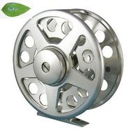 Free shipping fishing fly reel fishing tackle FB, 6061AL. CNC machine,changed easily from right to left