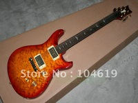 Brand new beautiful P R S paul reed smith 25th quilted top electric guitar cherry sunburst free shipping