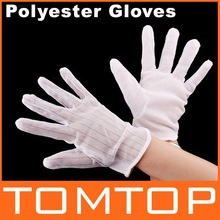 Anti-static Anti-skid Polyester Gloves ESD PC Computer Working 10pcs/lot(China (Mainland))