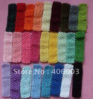 wholesale free shipping 1.5''crochet headband  27colors 300pcs/lot