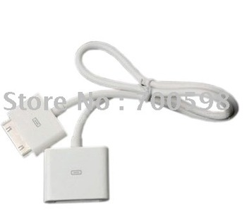 New&Hot!   AV extension cable for ipod/iphone/ipad,ipod connector male to female  drop shipping