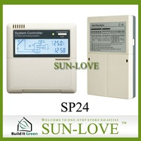 SP24 Solar Controller,Water Heater Controller,Temperature Controller,Solar Working Station Controller,110/220V,LCD Display
