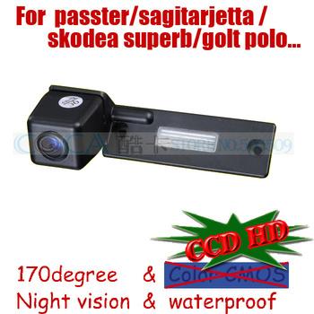 wireless car Rear view camera for sony ccd Volkswagen VW GOLF PASSAT TOURAN CADDY /SKODA SUPERB/Jetta SAGITAR parking assit