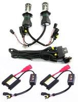 12V 35W New H4-3 6000K Hi/Low Hid Xenon Bulb Ballast Conversion Kit Wholesale & Retail [C153]