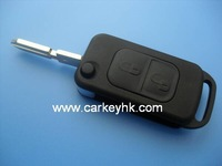 High quality Ben 2 buttons flip key blank 4 track flip key casing
