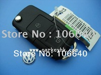 Hot sale VW 2 buttons remote key shell