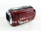 "FREE SHIPPING 2.7"" TFT 12.0 MP HD Digital Video Camera DV RED"
