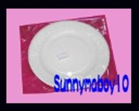High quality paper disc Size 15cm 1000pcs/Lot Disposable  paper plates Birthday cake plates party supplies