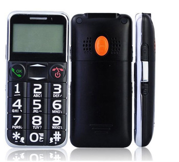 Free shipping Hot selling quad band U502 big button senior old people mobile phone with camera