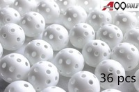 A99 Golf White Wiffle Ball  Air Flow Ball 36pcs