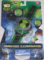 Free Shipping +1pc New Ben 10 Alien Force Omnitrix Illuminator Version 2