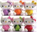 Hot sale! lots  Fruit Series hello kitty Children's lovely doll soft Toy Plush Toys +Free Shipping