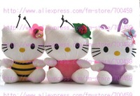 12PCS Hot sale! lots  Animals Series hello kitty Children's lovely doll soft Toy Plush Toys +Free Shipping