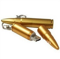 Metal bullet USB memory stick flash drive 1GB-16GB
