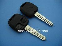 30pcs/lot hot sale high quality Mitsubishi 2 buttons remote key 313.8MHZ no chip