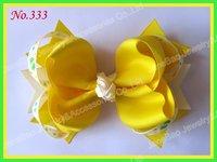 free shipping 150pcs 5.5'' big ring hair bows girl hair accessories popular popular hair clips newest big bows