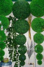 Grátis frete 60 cm 40 cm bola de buxo Artificial interior ao ar livre árvore topiaria planta(China (Mainland))
