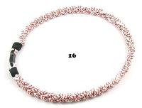 "Titanium Tornado Ionic Sports (3) Rope 7"" & 8"" necklace/ Bracelet"