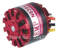 N6374 / 09 out runner Brushless motor KV170 / This outrunner motor has included accessories: prop adapter, mounting seat etc.