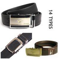 100% real leather CHINA TOP BRAND leather belt,New design 10 rectangular sliding buckles in list,Man's waist belt